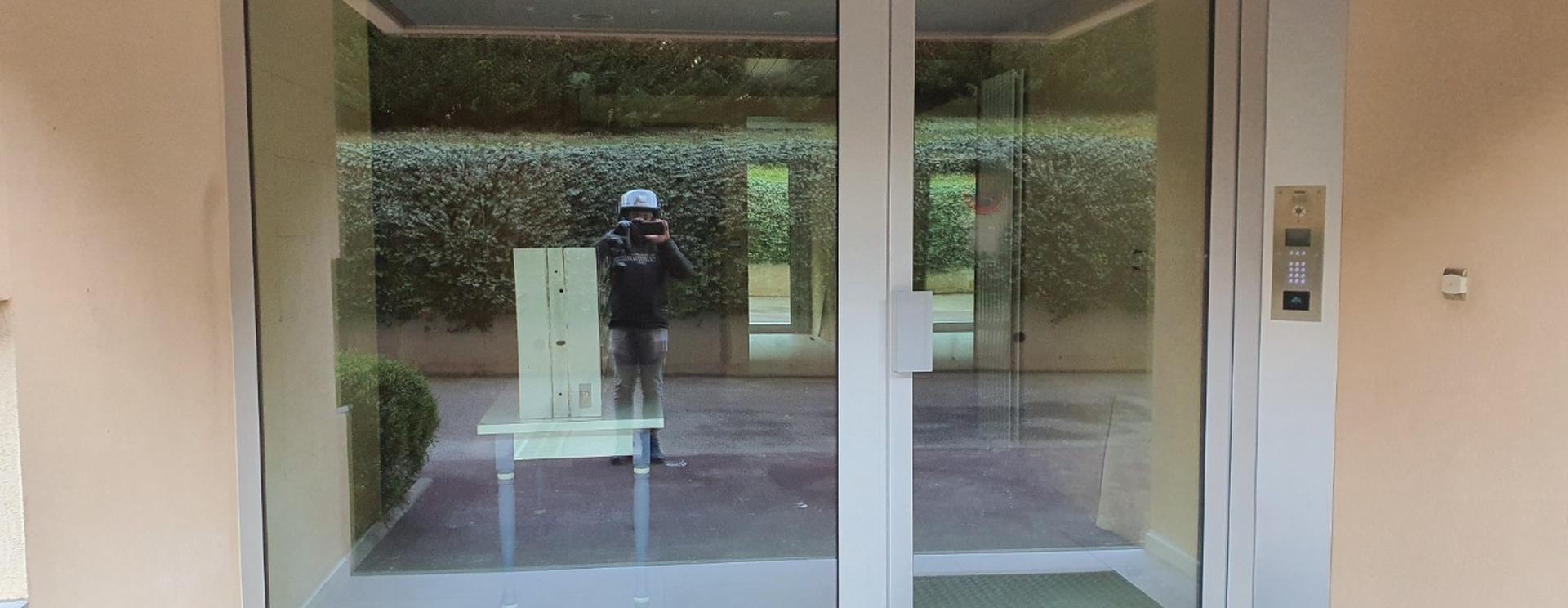 SAS d'entrée d'immeuble
